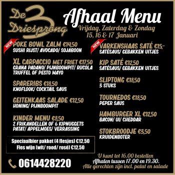 afhaal menu 3.4