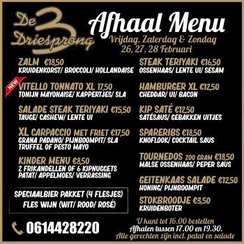 afhaal menu 4.0